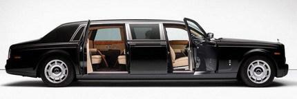 Limusina Rolls-Royce Phantom realizada por Mutec