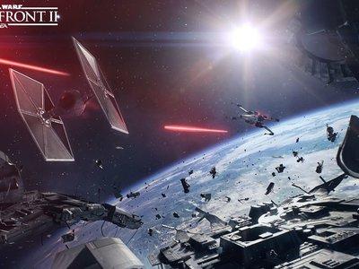 Star Wars Battlefront II: 22 minutazos de batallas espaciales aquí y ahora [GC 2017]