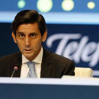 El beneficio de Telefónica en el primer trimestre cae más de la mitad pero se mantienen los dividendos por acción
