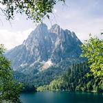 Els Encantats, espectacular paisaje de los picos Encantados en los Pirineos