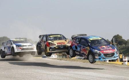Petter Solberg se proclama campeón del mundo de rallycross en Italia