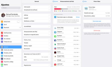 El almacenamiento Otros en el iPhone o iPad