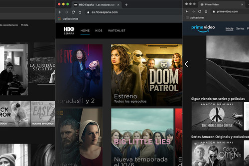 Si accedes a Netflix, HBO o Amazon Prime Video desde tu navegador estas son las importantes diferencias que vas a encontrar