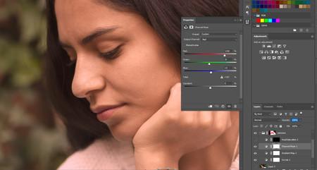 Corrección de piel en photoshop