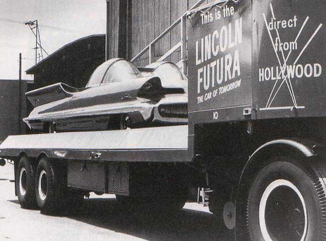 Lincoln Futura de George Barris