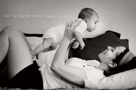 La foto de tu bebé: ser tu mamá es mi mayor alegría