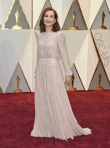 Isabelle Huppert Armani Oscars2017