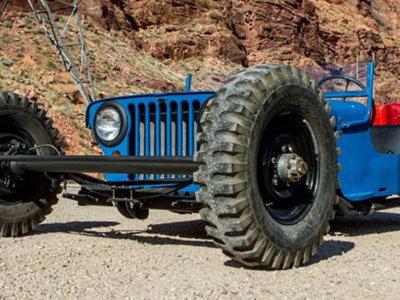 Ya sé qué hacer con mi Jeep Willys, un hot rod