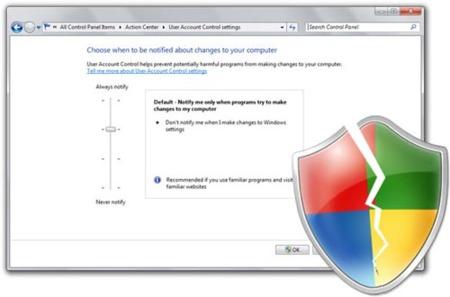 Windows 7 tiene un serio problema de seguridad con UAC