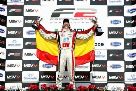 Andy Soucek, campeón de la Fórmula 2