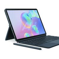 El Samsung Galaxy Tab S6 se filtra en nuevas imágenes que refuerzan el diseño visto hasta ahora