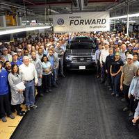 La Volkswagen Atlas comenzó su producción en Tennessee