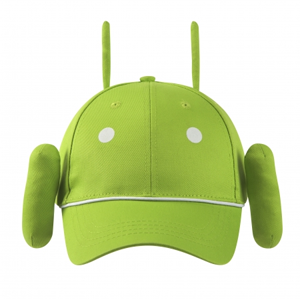 Gorra infantil Android