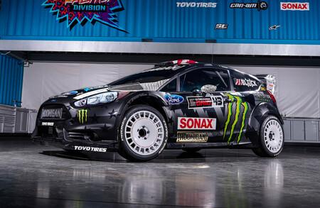 Ken Block Ford Fiesta Rallycross
