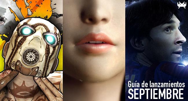 Guía de lanzamientos: septiembre de 2012