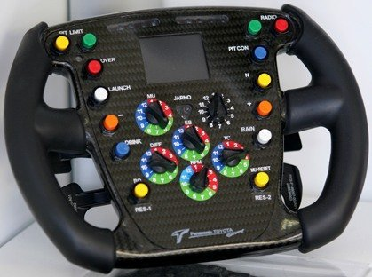 Volante Toyota F1