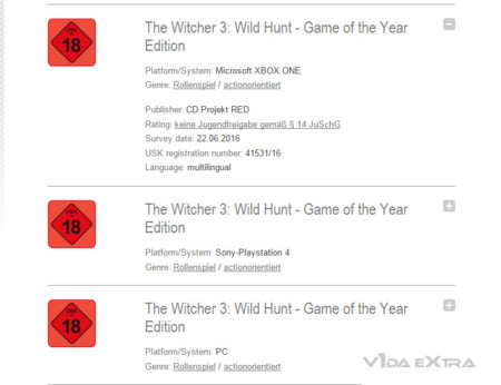 Witcher Ed Goty
