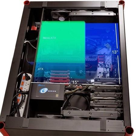Lian_Li_DK01_escritorio_gabinete_motherboard