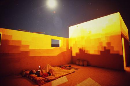 Durmiendo bajo las estrellas del cielo marroquí