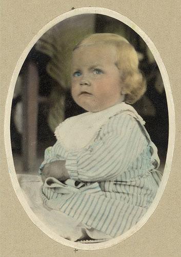 Fotos viejas de bebés