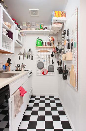 Una cocina bien aprovechada