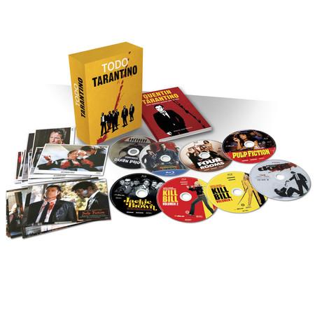 Pack Todo Tarantino, con 8 películas en Blu-ray, por 20 euros en El Corte Inglés