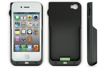 Carcasa con proyector LED para iPhone 4/4S de 3M