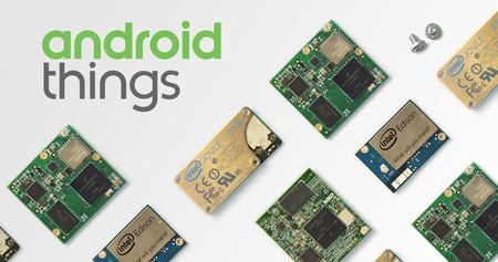 Android Things 1.0 ya está aquí: el sistema operativo de Google para el IoT llega al mercado