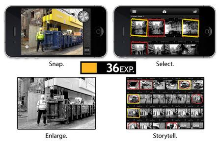 Thirty Six, una aplicación para iOS que te hará recordar cómo era disparar con carrete