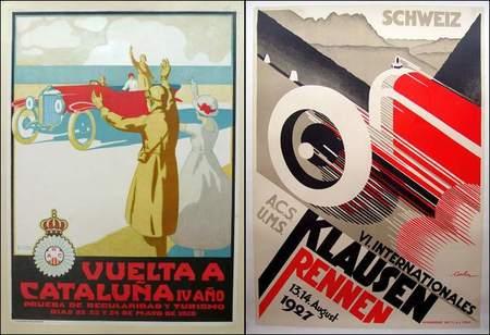 Póster Original Gran Prix Años 20