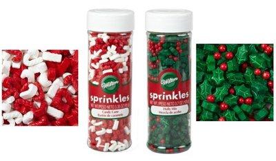 Sprinkles navideños de Wilton