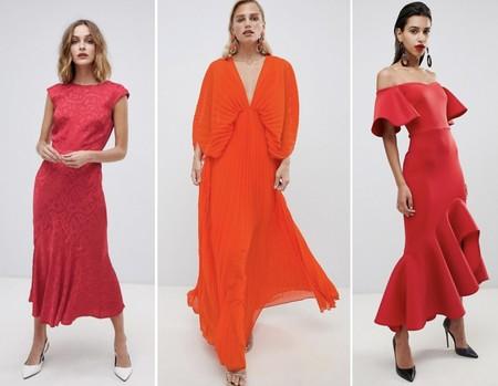 Vestidos Fiesta Rojo Largos
