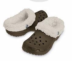 Crocs Mammoth con borreguito para el frío