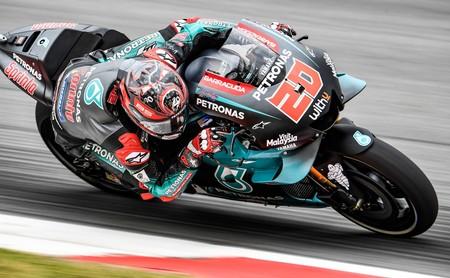 Fabio Quartararo no para ni en vacaciones y vuelve a ser el más rápido en los libres de Brno