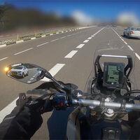 Esta tecnología avisa si hay vehículos en los puntos ciegos y de posibles accidentes, y vale para cualquier moto