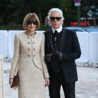 Anna Wintour y Karl Lagerfeld