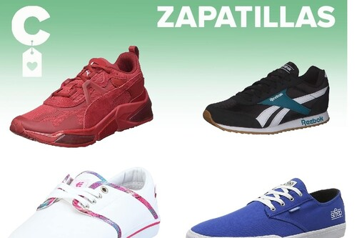 Chollos en tallas sueltas de zapatillas por menos de 20 euros de marcas como  Nike, New Balance o Adidas en Amazon