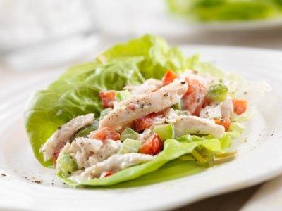 Cenas proteicas rápidas y fáciles: ensalada de pollo escabechado (XV)