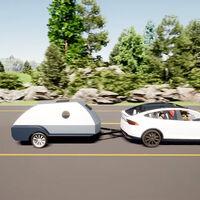 Esta minicaravana lleva la casa a cuestas y recarga coches eléctricos, aunque no es nada barata