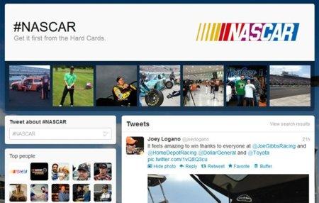 Las páginas de hashtag de Twitter estarán orientadas a eventos