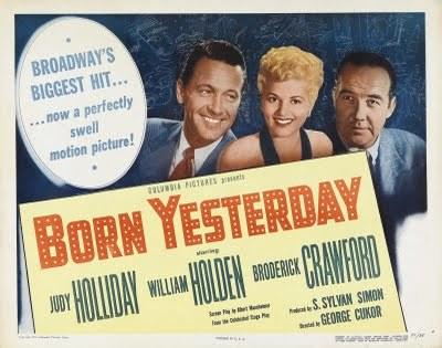 Cartel de 'Nacida ayer'