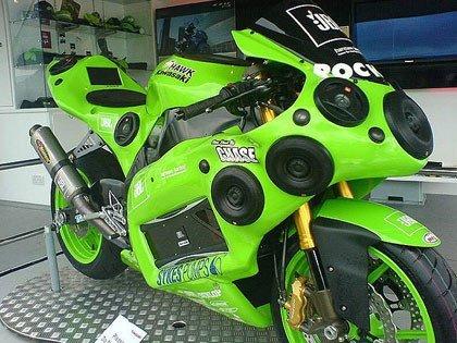 JBL Kawasaki ZX10R, ¿es una moto?