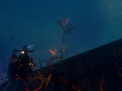 La aventura submarina Diluvion se presenta así de imponente a tres semanas de su lanzamiento