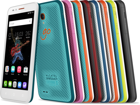 Alcatel OneTouch GO Play y GO Watch, su nueva familia de dispositivos resistentes al agua