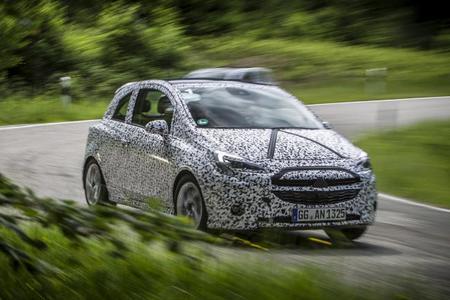 Nuevo Opel Corsa 2015, fotos y videos espía