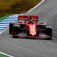 Ferrari toca fondo en Alemania: dos averías distintas dejaron tirados a Charles Leclerc y Sebastian Vettel