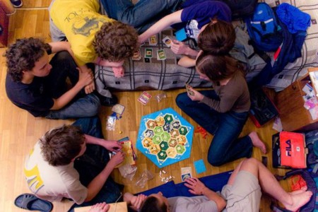 1024px Playing Settlers Of Catan