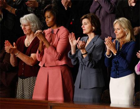 Michelle Obama de Moschino en el Congreso estadounidense