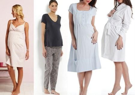 9a9b183ab pijamas y camisones para embarazadas