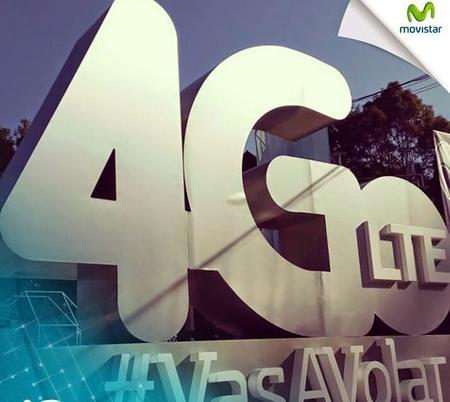 Telefónica Movistar presenta en México su red 4G LTE... otra vez